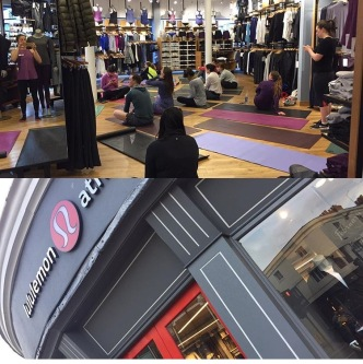 Lululemon Community class teacher
